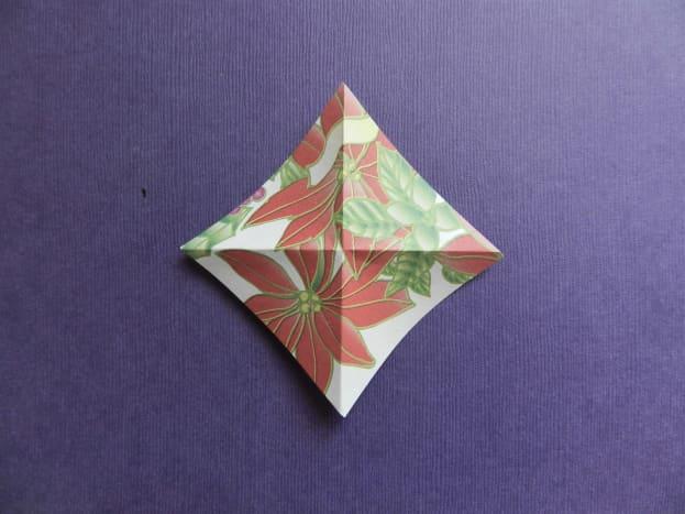 Fold two ways diagonally