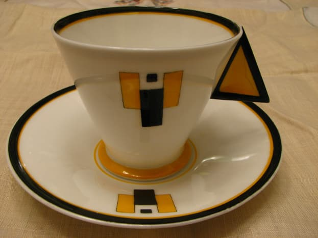 Art Deco teacup by Shelby of England