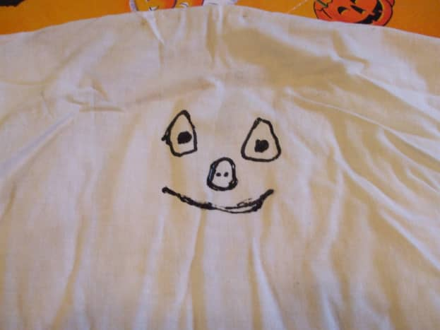 A genuine child-made ghost.