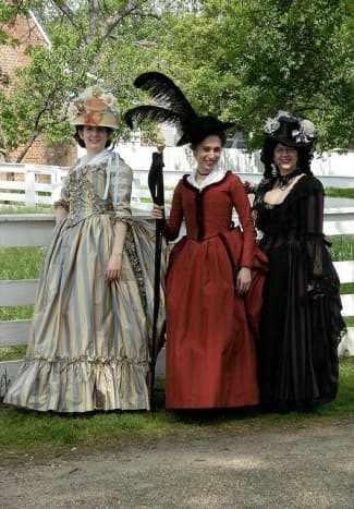 Historical costumes are great for groups of three or more.