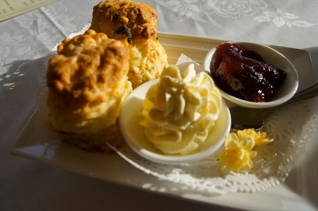 Victorian-themed food should be light and sweet.