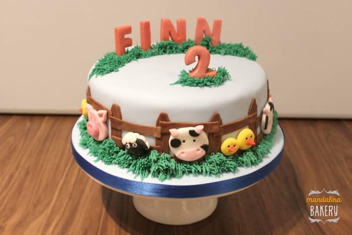 Farm cake by Mandalina Bakery.