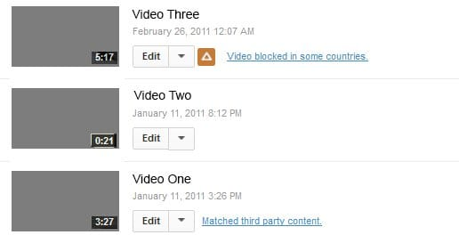 Different copyright claims.