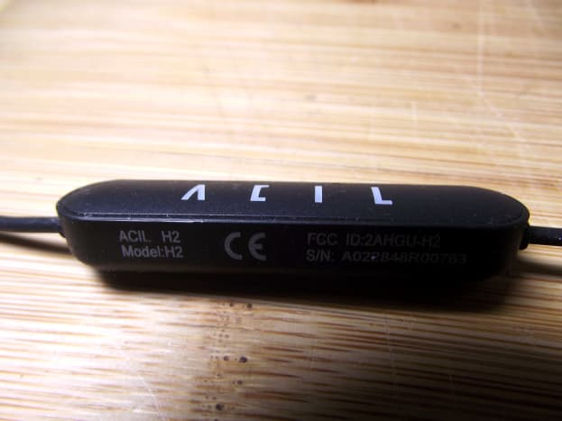 Battery housing for ACIL H2 Bluetooth Earbuds