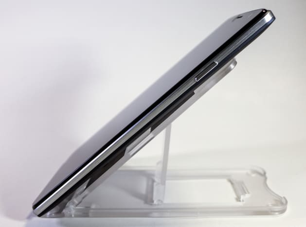The Lynx's sleek, contrasting design emphasizes its thinness.