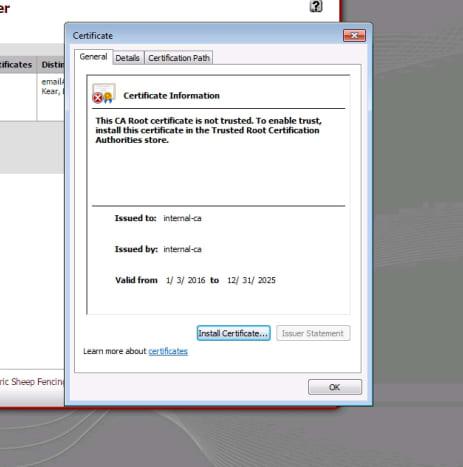 Windows 7 certificate properties dialog