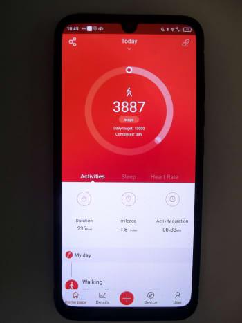VeryFitPro, the Ufit Smartwatch's companion application