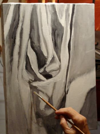 Student using Grayscale - In Process