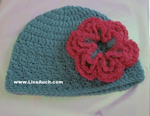 easy-baby-crochet-hat-patterns