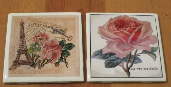 Photo Ceramic Tile Coasters