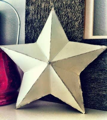 3D Cereal Box Star