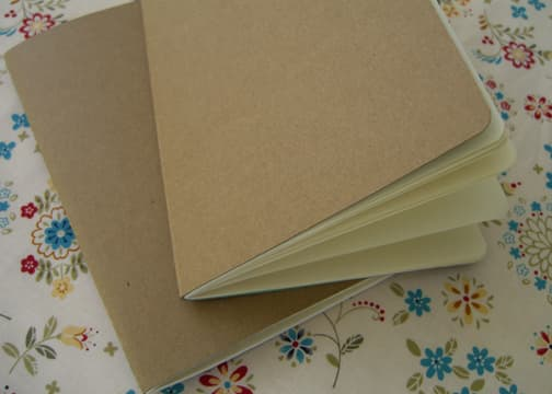 Cereal Box Journals