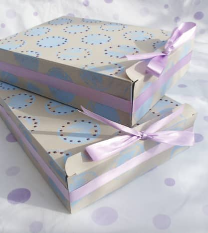 Small Gift Boxes from Cereal Boxes