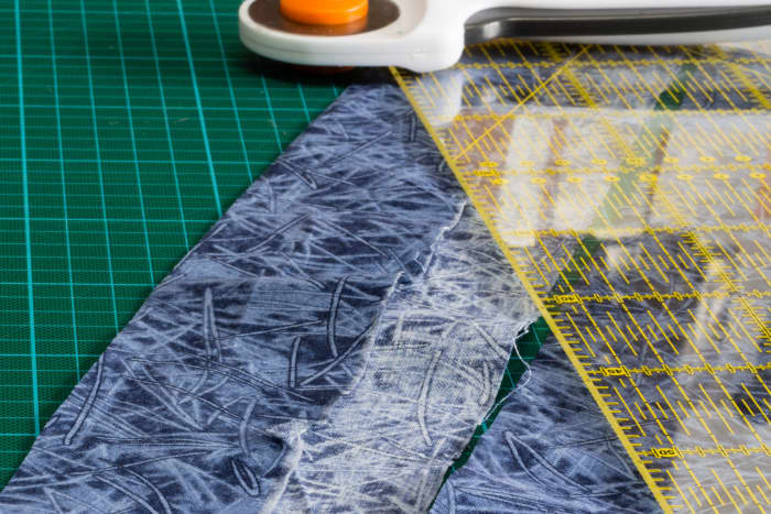 Cut framing strips - make sure the strips are straight and an even width.