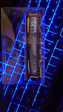 Crucial Ballistix Sport LT 2400mhz DDR4 RAM, 8gb, Single Module