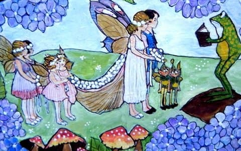 A Fairy Wedding in The Meadow