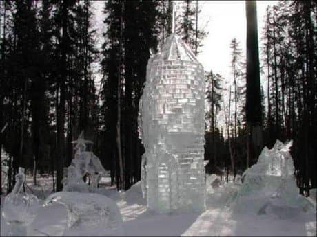 Building sculpture from Russia