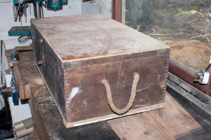 Original tool chest.