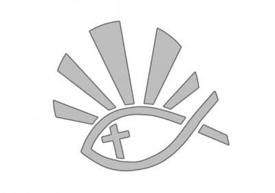 Christian Fish (Ichthys) pattern.