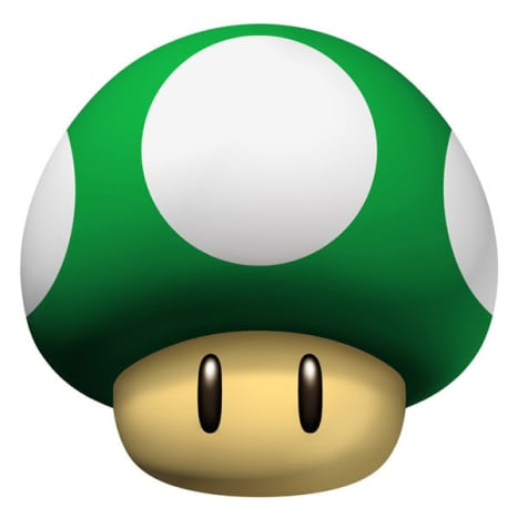 1-Up Mushroom.