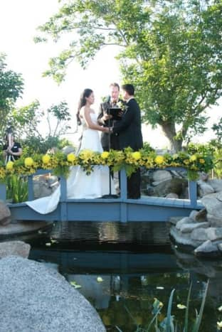 Our American/Western-style ceremony.