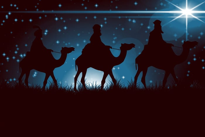 The Three Kings are also known as the Three Wise Men.