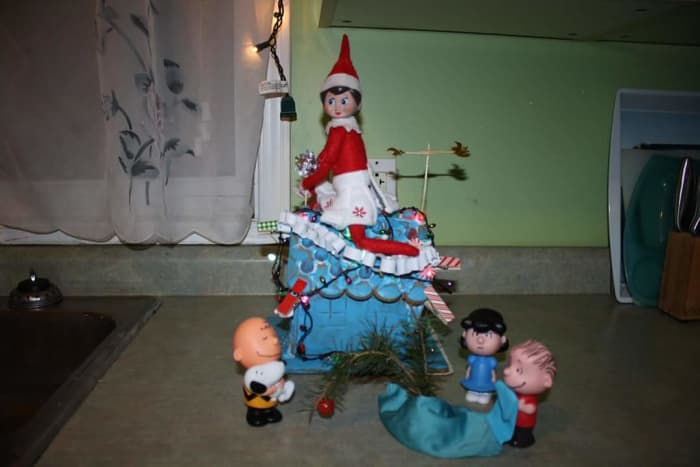 Charlie Brown Christmas feat. the Elf on the Shelf