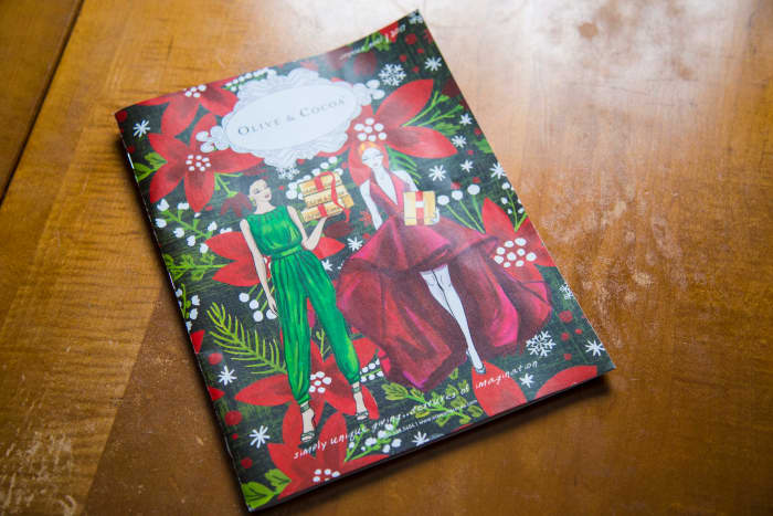 Christmas Catalog Make Great Gift Wrap