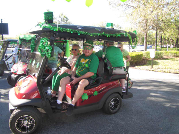 At the very least, put on your green t-shirt, but don't forget a fun Irish hat.