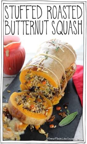 Sam Turnbull's stuffed and roasted butternut squash