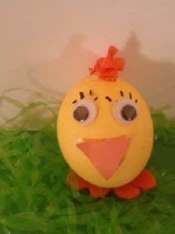 Easter Chick Egg