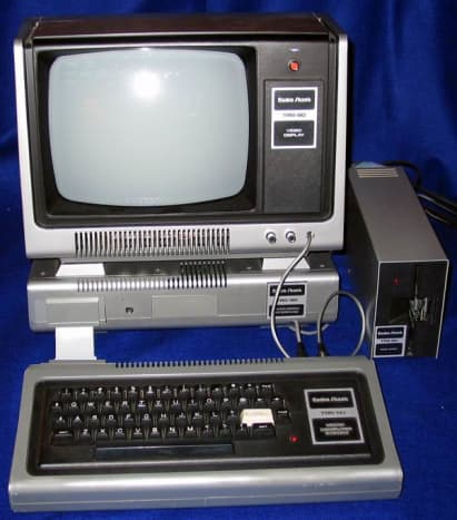 Microcomputers for business: Tandy Radio Shack (TRS) 80 Model 1