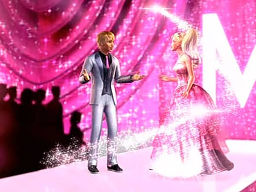 Barbie and Ken are reunited after a long journey in A Fashion Fairytale.