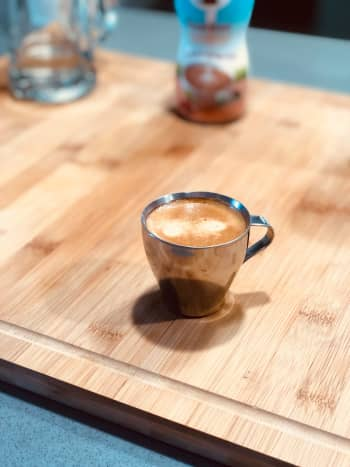 A simple espresso is a great way to start your day.