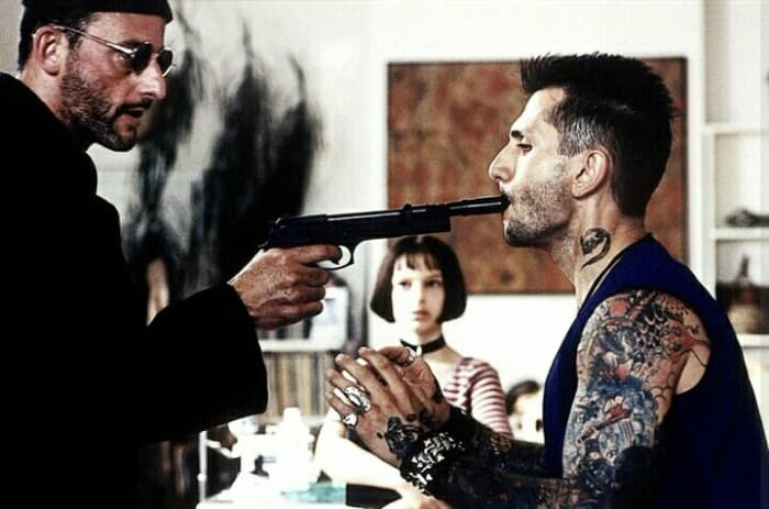 Now, Mathilda, for your first lesson of the day... Put the gun in your target's mouth and pull the trigger if he refuses to cooperate.