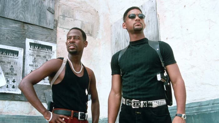Best cop partners in cinematic history? Maybe.