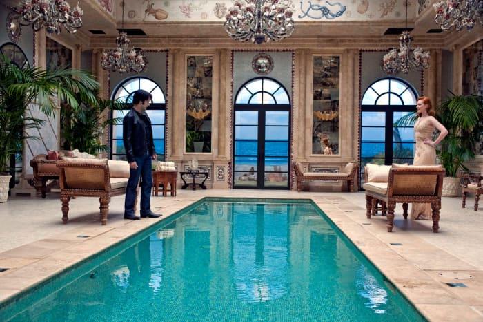 Queen Sophie's Mediterranean mansion.