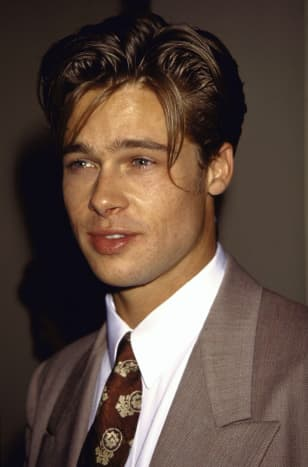 Pitt at the premiere of 1991's Thelma & Louise.