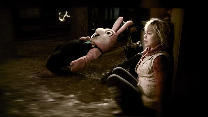 Be afraid of the goofy pink bunny everyone...