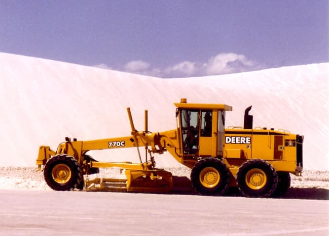 Full time job keeping the roads cleared from moving sand.