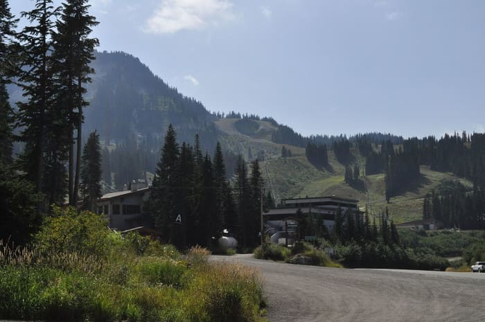 Stevens Pass, Washington, USA.