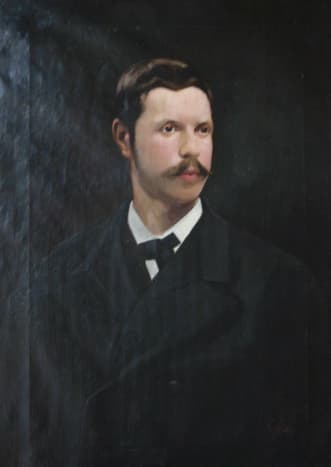 Painting of the Archduke in Son Marroig