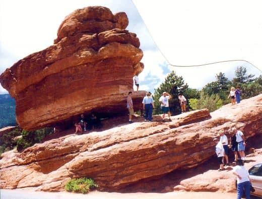 Balanced Rock in Garden of the Gods