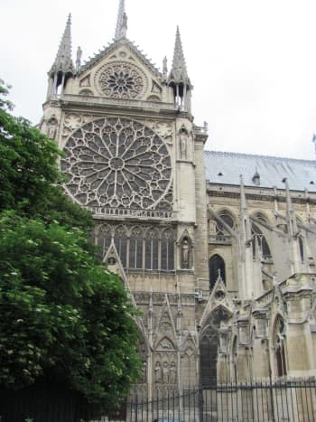 Going to Paris?  With its stained glass windows, Notre Dame is a must see.  My visit was prior to the fire that devastated the internationally significant landmark.