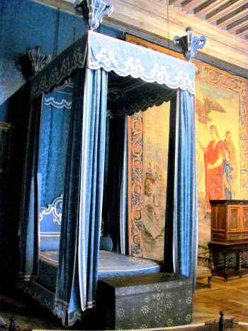 The bedroom of King Francis I.