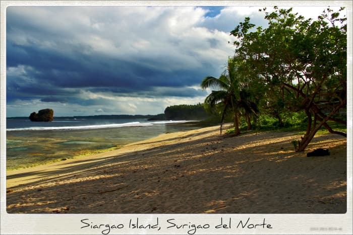 Siargao Island, Surigao del Norte is renowned as a surfer's paradise, known especially for its annual Siargao Cloud 9 Surfing Cup.