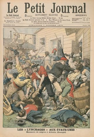 A journal cover similar to this one is on display at the Museum, acknowledging one of the grimmest times in Atlanta's history.  Image courtesy Wikimedia Commons.