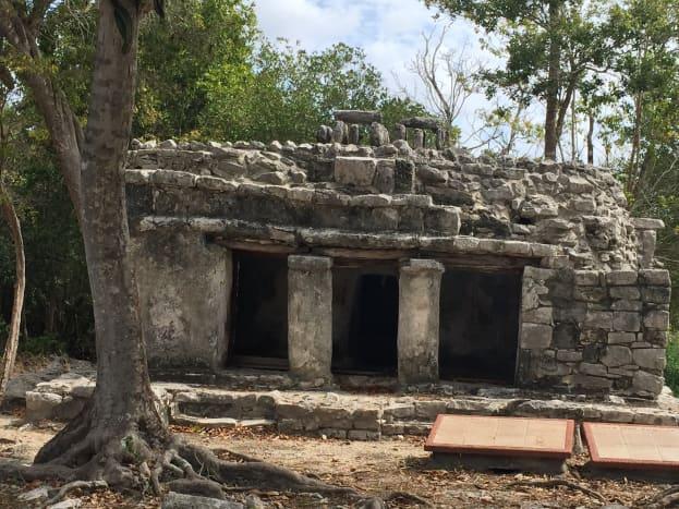 House of the Jaguar, Xel-Ha Ruins, QR