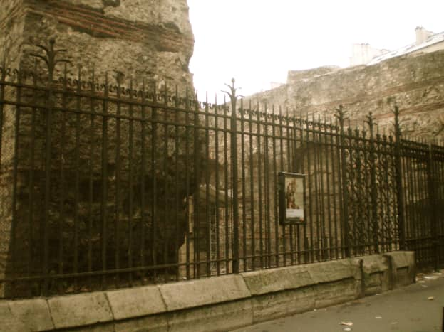 The Roman ruins of the Cluny Museum (c) A. Harrison