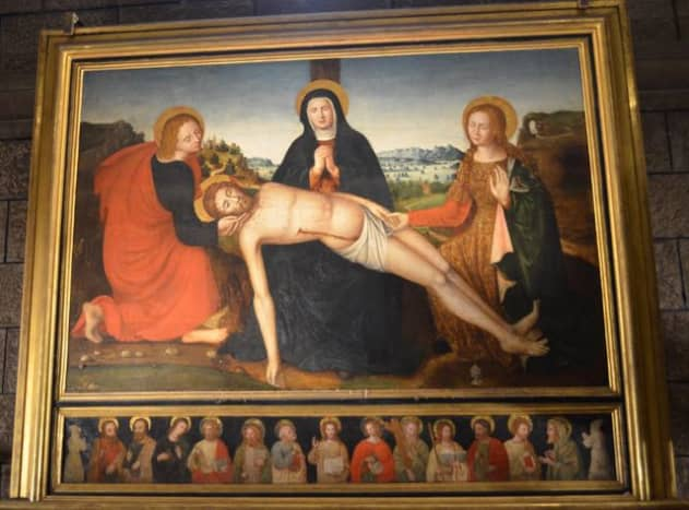 Pieta by Francois Brea c 1535 (c) A. Harrison